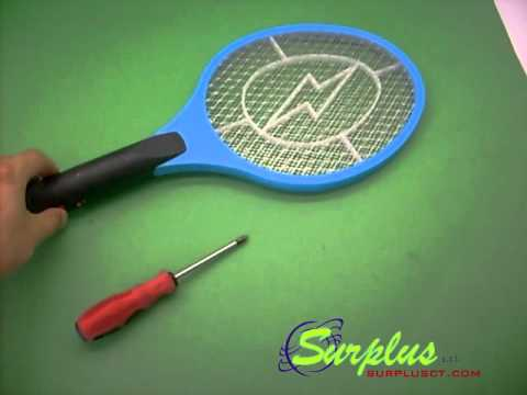 Schema Elettrico Racchetta Per Zanzare : Racchetta elettrica contro zanzare mosche insetti etc youtube