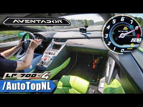 LAMBORGHINI AVENTADOR LP700-4 6.5 V12 | AUTOBAHN DRIVE By AutoTopNL