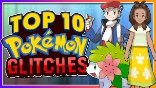 Top 10 Crazy Pokémon Glitches! (GEN 1-7)