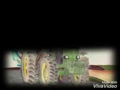 Mes plus beaux dessins de tracteurs john deere youtube - Dessin anime de tracteur john deere ...