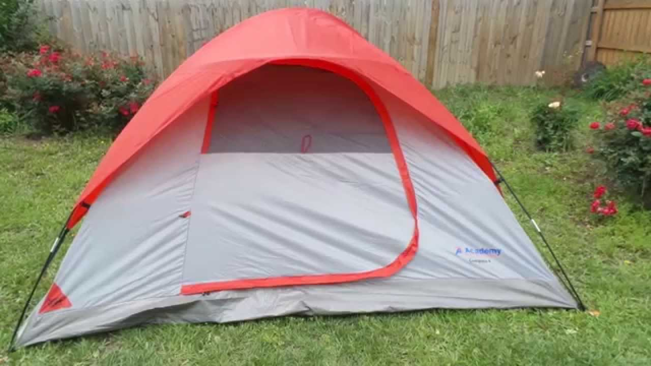 ACADEMY SPORTS COMPAS 4 DOME TENT REVIEW