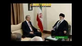 Turkish president Erdogan meet Ayatollah Khamenei before departure to Turkey