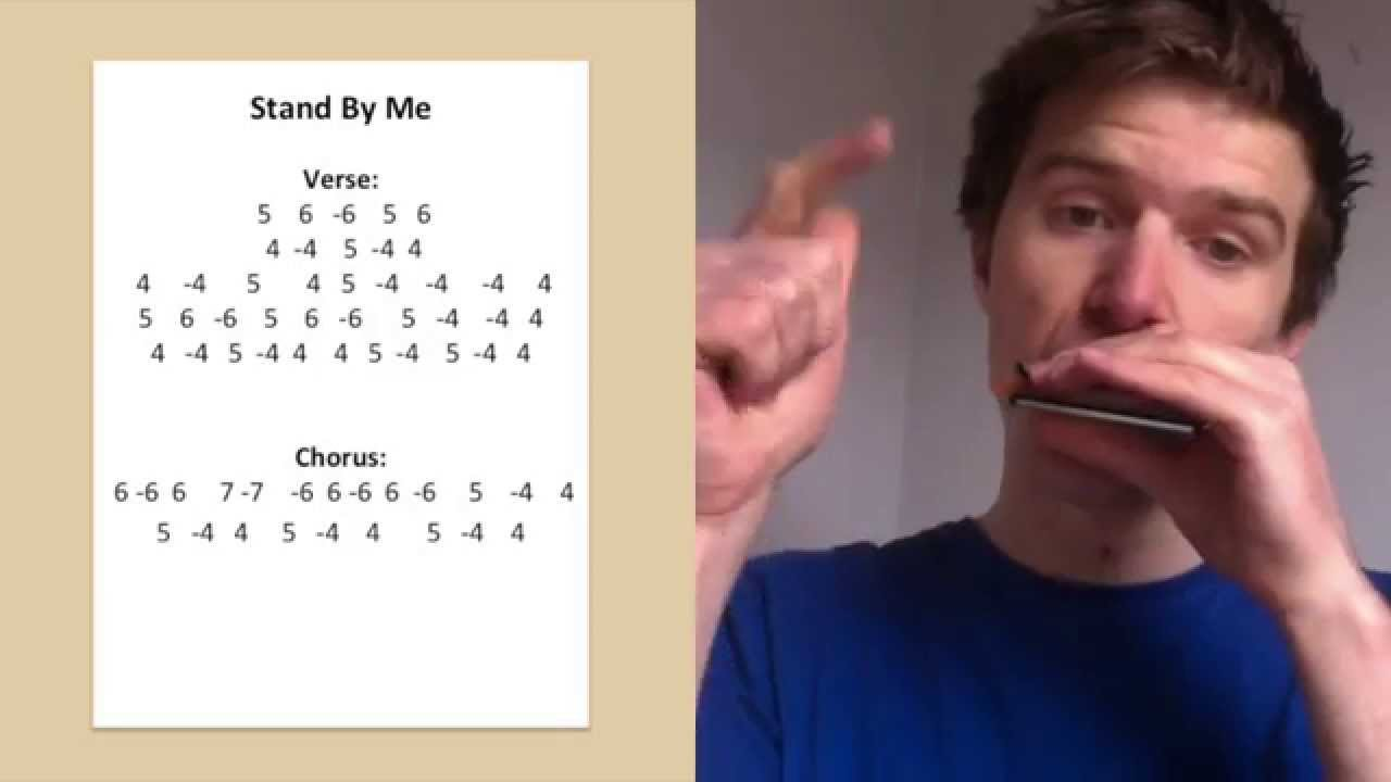 Stand By Me Harmonica Lesson Saturday Song Study 5 Youtube