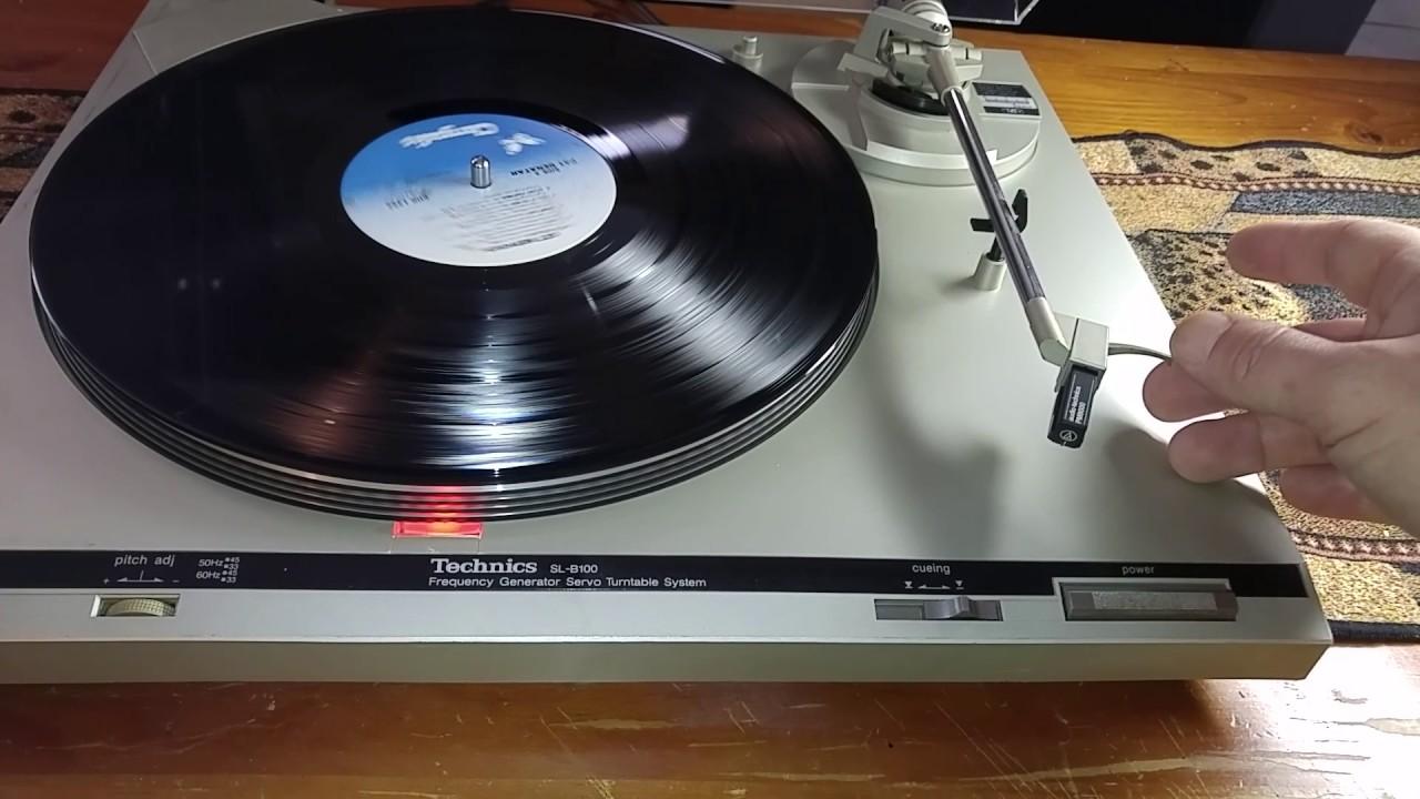 Technics SL B100 Manual Tutntable