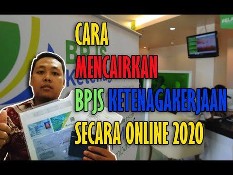 Cara Mencairkan BPJS Ketenagakerjaan Secara Online 2020 Di Kota Batam - YouTube