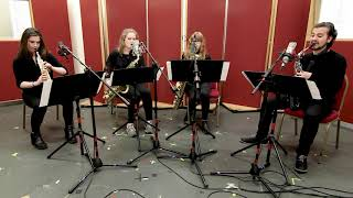 Romance – Clara Schumann arranged for Sax Quartet