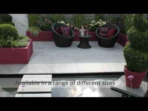 Granite Paving - Nustone Natural Stone Calibrated Granite Patio Paving Slabs Footpath Pavers