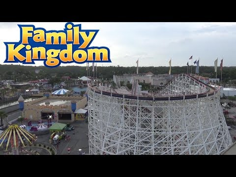 Family Kingdom (Myrtle Beach Amusement Park) 2017 Tour & Review with The Legend