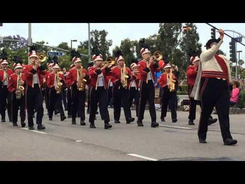 Garden Grove High School Strawberry Parade 2014