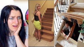40 CAMERE SEGRETE SCOPERTE NELLE CASE INCREDIBILI !!! ANITA STORIES