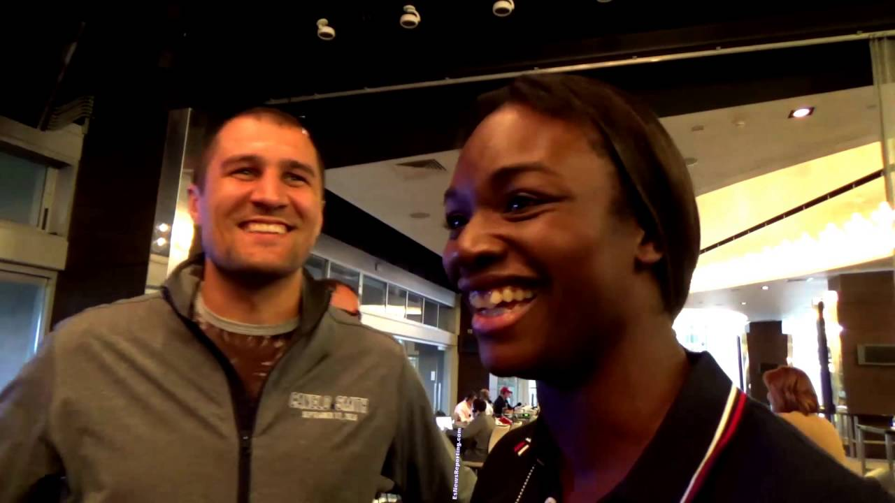 Sergey Kovalev And Clarissa Shields Esnews Boxing Youtube