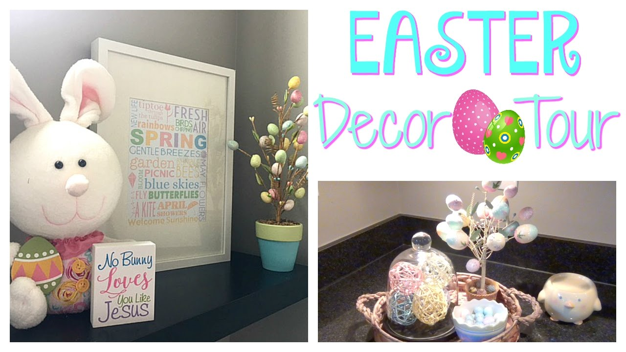 Easter Spring Home Decor Tour 2017 Dollar Tree