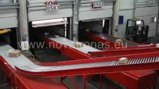 Parcel sorting line for courier services(Semi-automatic parcel sorting line. Sorting is done manually. . www.novatronas.eu., 2010-11-06T20:59:30.000Z)