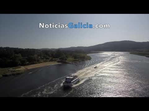 Remonte do Ulla 2019. Área fluvial de Vilarello (Valga)
