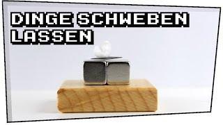Dinge schweben lassen! (Graphitplättchen + Neodym Magnete) - Heimexperimente #05