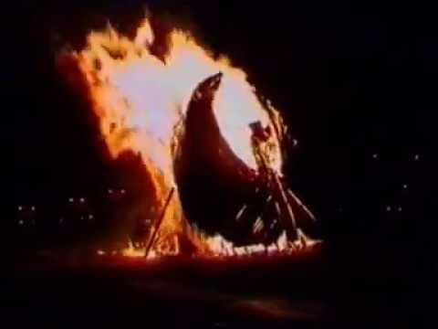 Hulme - Phoenix fire, Hulme Arch party 1996