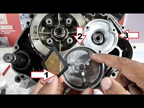 How to clean Oil Filter of your Motorcycle.