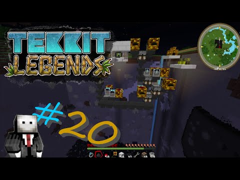 Tekkit Legends! #20 Solar Panels!