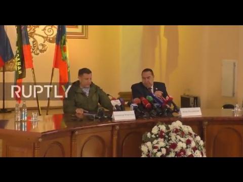 Ukraine: 'Occupied territories' are not lost for us, says LPR leader Plotnitsky