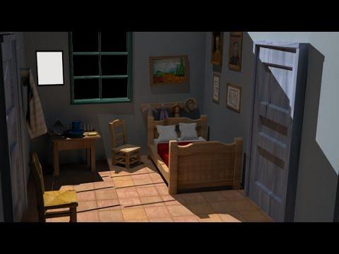 La Chambre  Arles En D  Vincent Van Gogh  Youtube