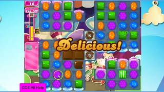 Candy Crush Saga Level 1227 35 moves NO BOOSTERS Cookie