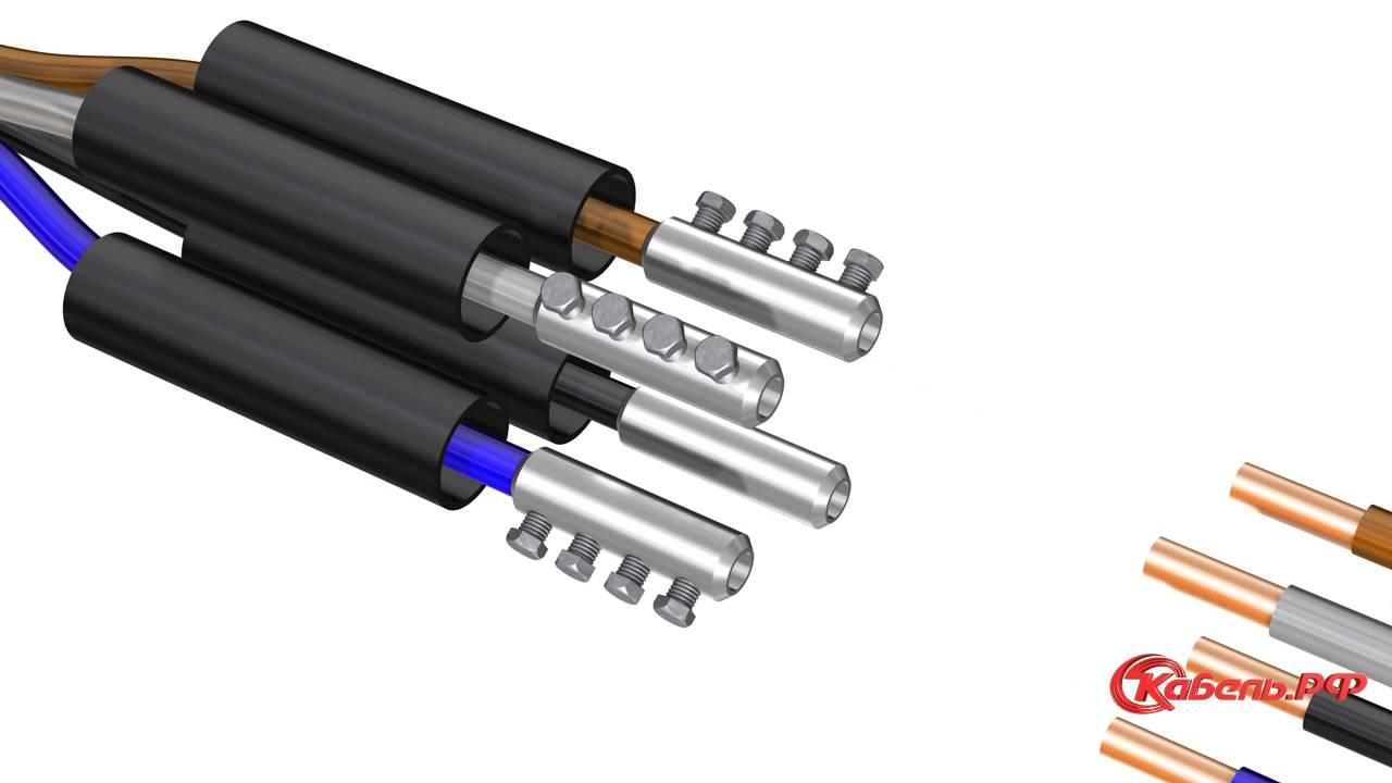 Установка кабельных муфт на кабель из сшитого полиэтилена фото 370