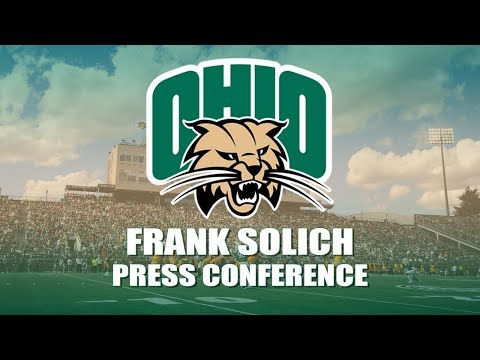 Ohio Football 2018: Frank Solich Press Conference (11/19/2018)