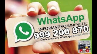 ✔ Immunocal PERU TELF. 999200870 ⚠️ ¿EFECTOS SECUNDARIOS【2019-2020】