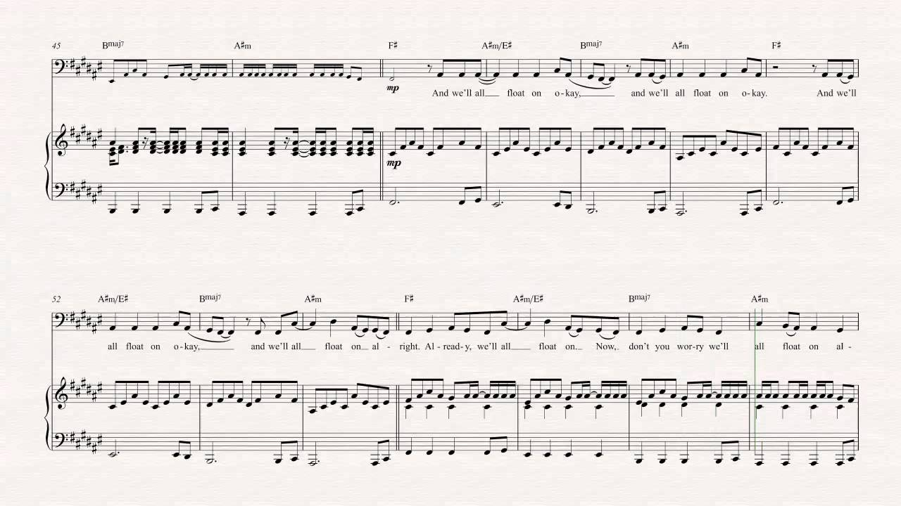 Cello   Float On   Modest Mouse   Sheet Music, Chords, & Vocals