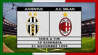 Serie A 1999-00, Juve - AC Milan (Full, NL)