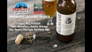 Brettanomyces & Belgian-style Brewing with Allagash's Tom Bonafair | Hop City Brewers Lecture Series