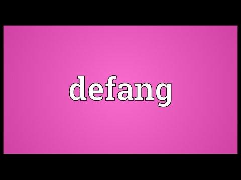Header of defang