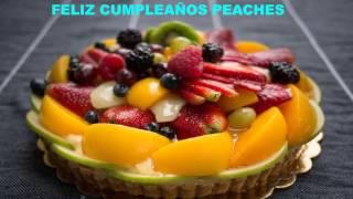 Peaches   Cakes Pasteles
