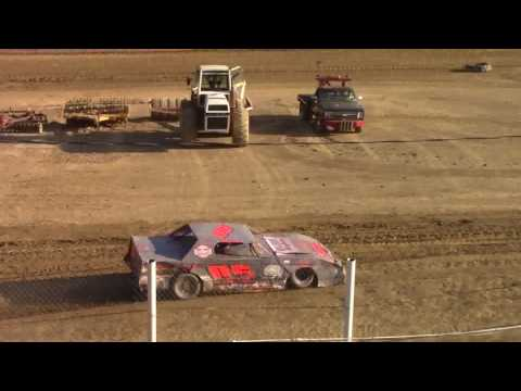 Old Bradford Speedway Pure Stock Heat Races 8-20-17
