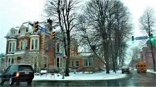 Winter drive in Buffalo, NY ❤️ Autofahrt durch Buffalo, NY