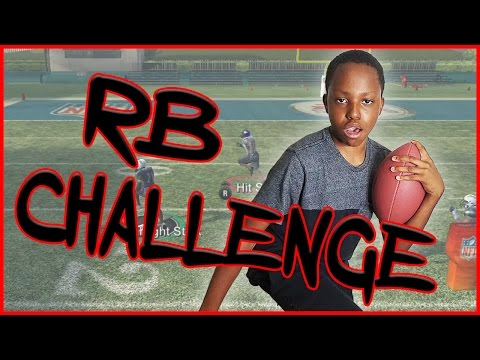 Madden 2009 Mini Game  RB Challenge Gameplay  HE CAN'T BE STOPPED!!