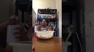 Making a Chicken Pot Pie