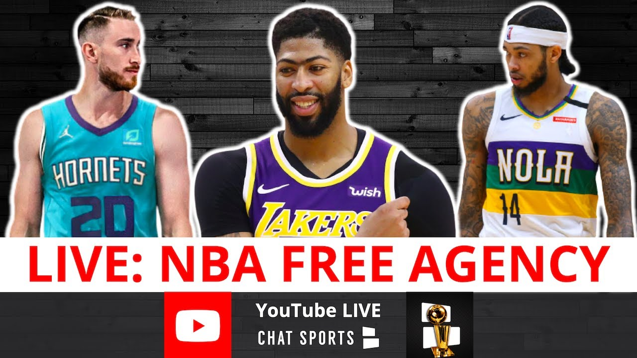 NBA Free Agency Now LIVE With Jimmy Crowther