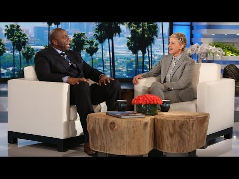Magic Johnson Discusses His Son's Coming Out