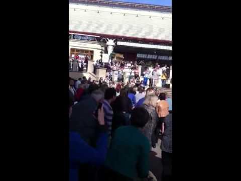 Rock Choir Flashmob Windsor, Basingstoke choir