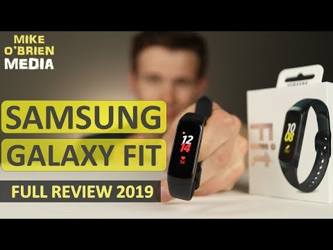 New Galaxy Fit  By Samsung [2019 New Galaxy Wearable] - Long Battery, Heart Rate, Water Resistant