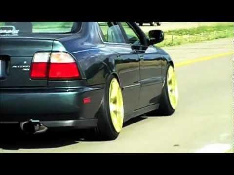 Honda Civic Tires >> My 1996 Stanced Accord - YouTube