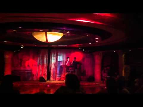 Mitchell Gay and Brandon Coffin - Karaoke on the Cruise Ship
