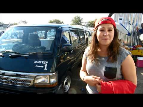 Summer 2014 Media Project: Transportation around Gaborone