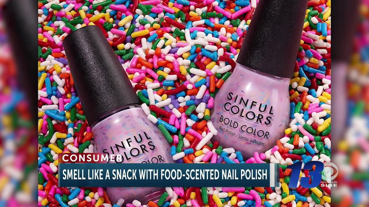 Food Scented Nail Polish Will Have You Smelling Like Your Favorite Snack Youtube