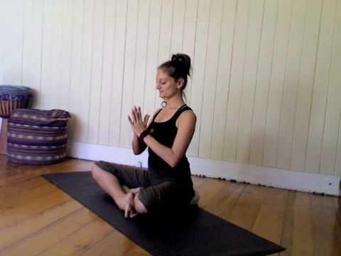 "yoga shoulder stretch ""circle of joy"" ten toes yoga"