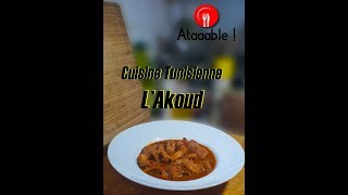 Cuisine Tunisienne - L'akoud v2