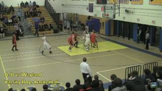 Acton Boxborough Varsity Boys Basketball @ Wayland 12/20/11