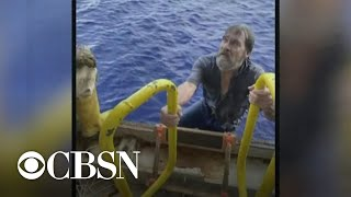 Boater rescued 86 miles offshore speaks out