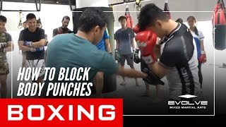 Boxing Basics | How To Block Body Punches!